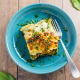 Chicken Spinach Butternut Squash Lasagna