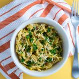 Chicken Butternut Squash Einkorn Spaghetti